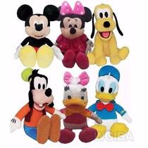 Pelucias Turma Mickey ( Mickey/minnie/pateta/plutos) Unid