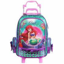 Mochilete Grande Princesas Ariel - 60019 Disney