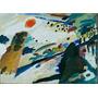 Wassily Kandinsky - Paisaje Romántico - Lámina 45x30 Cm.