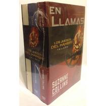 Libros Los Juegos Del Hambre Trilogia De Zuzanne Collins Pb!