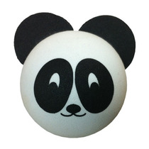 Bola Bolinha Topper Enfeite Para Antena De Carro Urso Panda