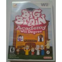 Wii Big Brain Academy: Wii Degree $200 Seminuevo - V / C