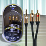 Linha Nova Diamond Cable Goldseries Gs-3035 Cabo P2/rca 1,5m