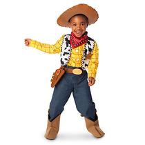 Disfraz Woody Disney Store Traje Toy Story Vaquero