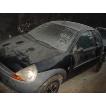 Sucata Do Ford Ka 97 Porta Motor Teto Só Para Peças Painel