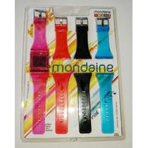 Relógio Mondaine Twist Vibe Troca Pulseira 94410l0mcnp1 Rvpa