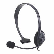 Fone De Ouvido Headset Xbox 360 Microfone Jogue Online Chat