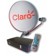 Claro Tv Kit Completo Com Antena De 60cm Promoção