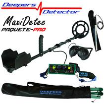 Detector De Metales Y Tesoros Maxi Detec Envio Gratis