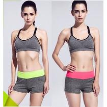 Short Cintura Alta Fitness Workout