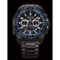 Relógio Casio Edifice Red Bull Efr 534rbk-1adr Ed. Limitada