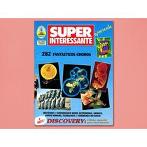 Super Interessante - Álbum De Figurinhas - Incompleto