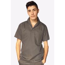Camisa Masculina Gola Italiana Profissional Brim