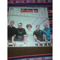 Lp Cuarteto Leo La Vida Sigue Igual