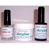Primer Sin Acido P/ Esmalte Gel Semipermanente Marca Acrilab