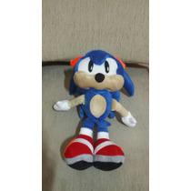 Boneco De Pelúcia Sonic Azul