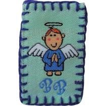 Escapulario Bordado Virgencita Angelitos Santitos 25x$125.00