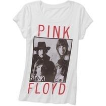 Remera Pink Floyd Original Mujer Varios Talles Import Nuevas