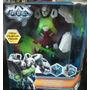 Max Steel Disc Blaster Cytro Original De Mattel