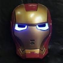 Homem De Ferro Mascara De Led