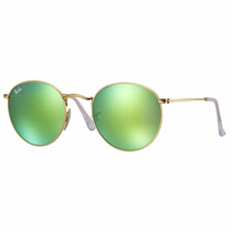 Ray Ban Rb3447 Round Metal Espejo Aviator Clubmaster 3025