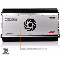 Modulo Booster 3000w Rms 4 Canais Ba-2100.4 + Frete Grátis