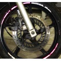 Friso Adesivo Refletivo Rec05 Roda Moto Honda Biz 125 100