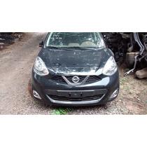 Sucata Nissan New March 1.6 Sv 2015 Bartolomeu Peças