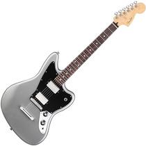 Fender Guitarra Eléc Jaguar Blacktop México Rwn Hh Silver