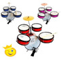 Bateria Infantil Rock Baby Am 2 Tons Profissional Somos Loja