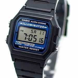 5d9a3dcd62d Relógio Masculino Casio Illuminator F 105 W 1adf Preto Novo - R  89 ...