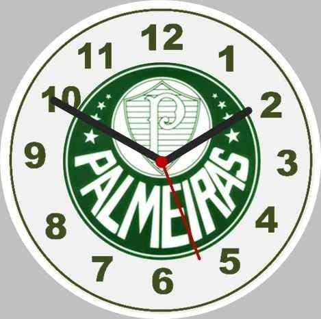 Relógio De Parede Palmeiras - R  79,00 em Mercado Livre 10413f033c