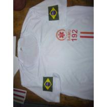 Camiseta Samu Branca Gola O