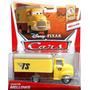 Cars Disney Pixar Deluxe Camion Dustin Mellows Mattel