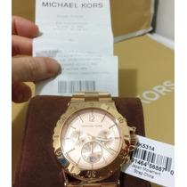 Relogio Feminino Michael Kors Gold Rose Importado Original