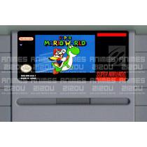 Label Para Cartucho De Super Nintendo