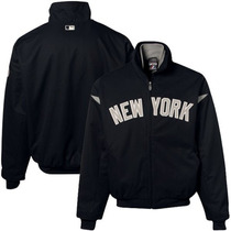 Chamarra Majestic Oficial De Juego New York Yankees