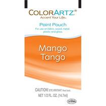 Pinte La Bolsa - 14.7ml Mango Tango Colorartz Aerógrafo Col