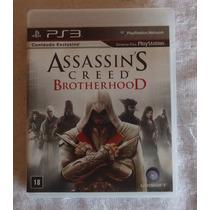 Assassins Creed Brotherhood Ps3 Midia Fisica Envio Imediato