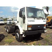 Ford Cargo 2425 6x4 Branco Ano 2000