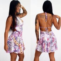 Vestido Estampa Floral Ciganinha Gipsy Estilo Farm Antix