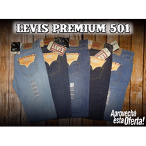 Pantalones Levis Premium 501 Made In Mexico Corte Original