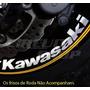 Kit Adesivo Refletivo Roda Super Large Moto K Kawasaki Ninja