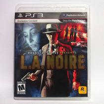 L.a. Noire - Ps3 - La Noire - Adtec Games