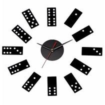 Reloj Dominó De Pared ****
