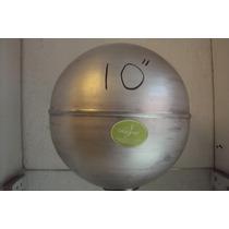 Molde De Esfera Aluminio...10 Para Velas