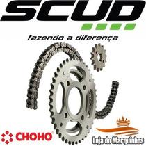 Kit Relação Dafra Super 100 14 X 40 X 428h 102 Scud 10530033
