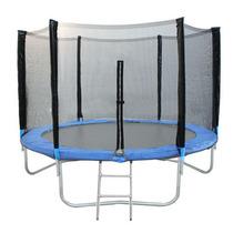 Cama Elástica 3,10m + Rede + Escada + Proteção De Molas + Nf