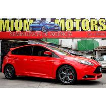 Ford //focus St// Ecoboost Seminuevo!! Turbo, Piel Qc Xenon