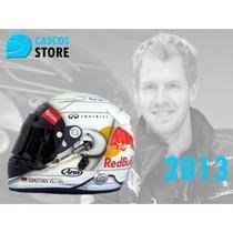 Casco Automovilismo Competicion Replica S Vettel 2013 Bahrei